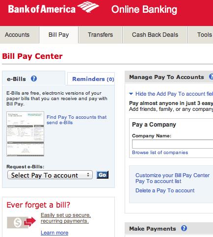 best online bill payment