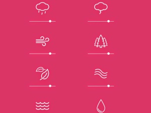 Noisli - background noise and color generator for working and relaxing - gerador sons - aplicativo - ideia quente (1)