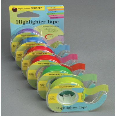 Tape Highlighter World of Highlighter Tape