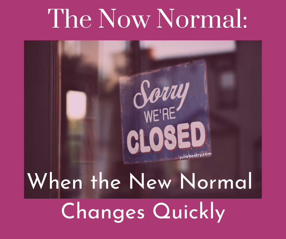 The Now Normal When The New Normal Changes Quickly Best Results
